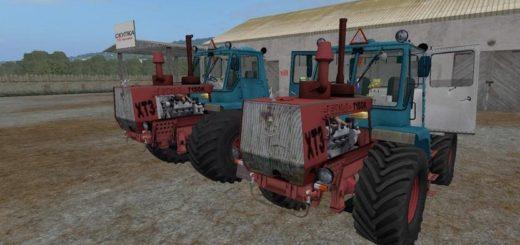 Мод трактор T-150K RED V1.0 Фермер Симулятор 2017