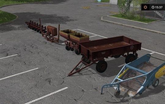 Мод ПАК POTATO CULTIVATION V1.0 Farming Simulator 2017