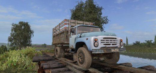 Мод грузовик ЗИЛ 130 v1.1.0.0 Фермер Симулятор 2017