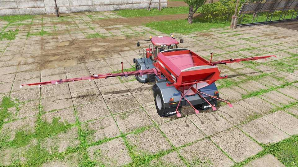 Мод CASE IH TITAN 4540 V1.0.0.1 Farming Simulator 17