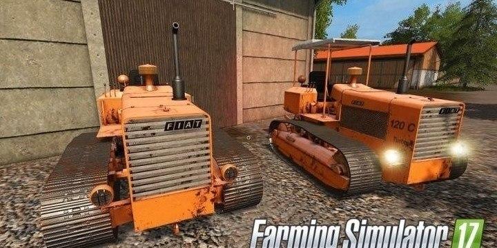 Мод трактор Fiat 120c Farming Simulator 2017