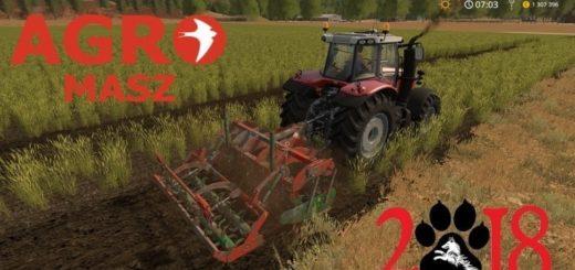Мод культиватор Agromasz PD 30 v2.0 Farming Simulator 17