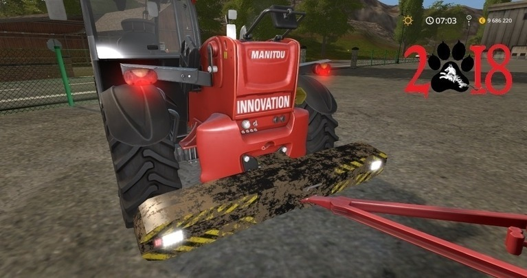 Мод противовес ArtMechanic PT 25 v1.0 Farming Simulator 17