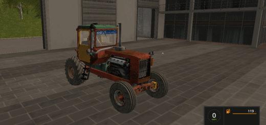 Мод трактор ДТ 75 v1.1 Фарминг Симулятор 2017