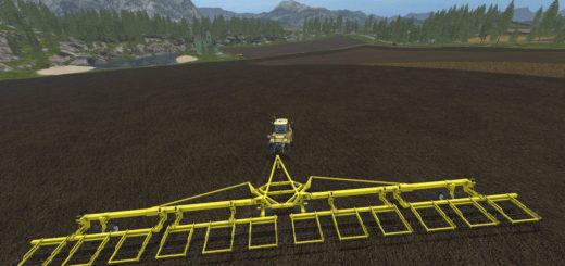 Мод культиватор StrawMaster 120 v1.0 Farming Simulator 2017