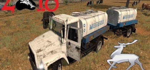 Мод грузовик ГАЗ-3309 Г6-ОТА-4.2 v1.0 Фермер Симулятор 2017