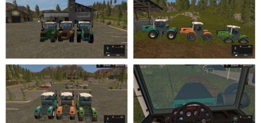 Мод ПАК трактора ХТЗ-280Т 241К 242К 234К V3 Фермер Симулятор 2017