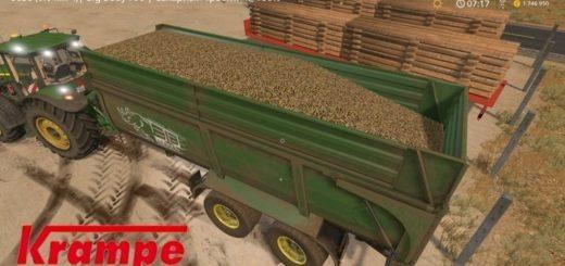 Мод прицеп Krampe BBS 790 v1.1 Farming Simulator 17