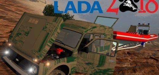 Мод авто Нива ВАЗ 2329 v1.1 Фарминг Симулятор 2017