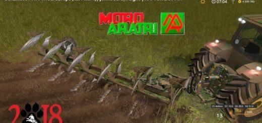 Мод плуг Moro Raptor EXA Farming Simulator 17