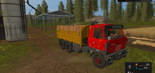 Мод грузовик Tatra T815 S3 v1.0 Фарминг Симулятор 2017