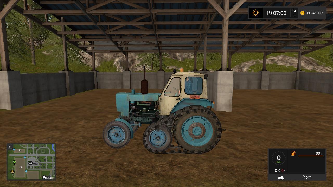 Мод трактор ЮМЗ-6Л v1.0.0.0 Фермер Симулятор 2017