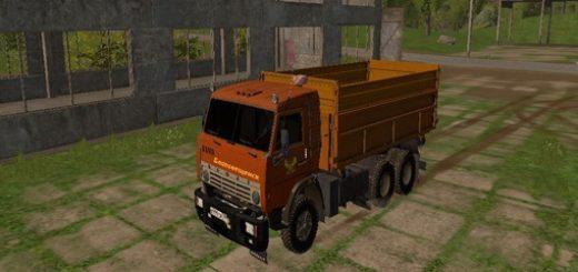 Мод грузовик КамАЗ 55102 v1.0 Фермер Симулятор 2017