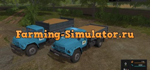 Мод грузовик ЗИЛ 131 v1.0.0.0 Фермер Симулятор 2017