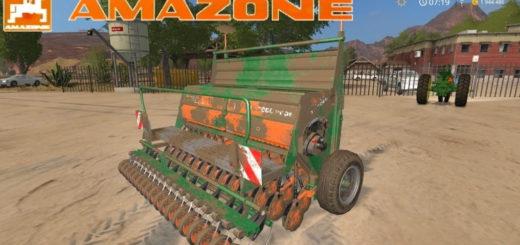 Мод сеялка Amazone D9 Super v1.0 FS17