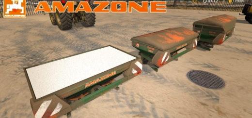 Мод Amazone ZAM v1.1 Farming Simulator 17