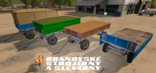 Мод прицеп BSS P73SH Farming Simulator 17