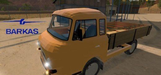 Мод авто Barkas B1000 v1.0 Farming Simulator 2017