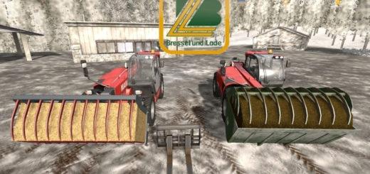 Мод вилы Bressel & Lade Pack v1.0 Farming Simulator 2017