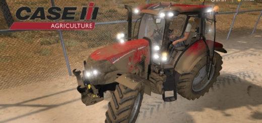 Мод трактор Case IH Maxxum FL v1.0 Farming Simulator 2017