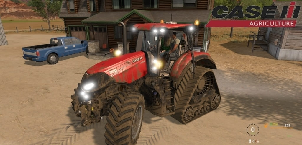 Мод трактор Case IH Optum 270 / 300 CVX v1.0 Farming Simulator 17