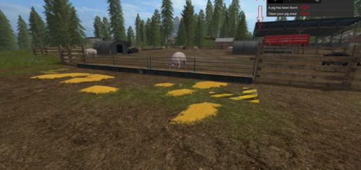 Мод скрипт Animal Notifications v 1.1 Farming Simulator 2017
