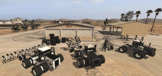 Мод трактор Big Bud 740 beta Farming Simulator 17
