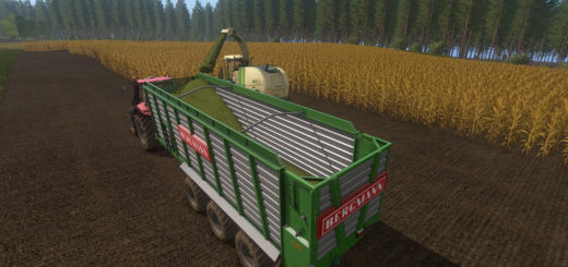 Мод прицеп BERGMANN HTW 65 V1.0.0.0 Farming Simulator 17
