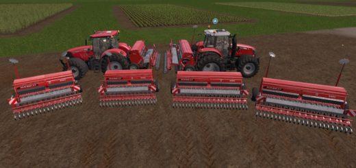 Мод ПАК сеялки CASE 5000 SUPER PACK V1.0 Farming Simulator 17