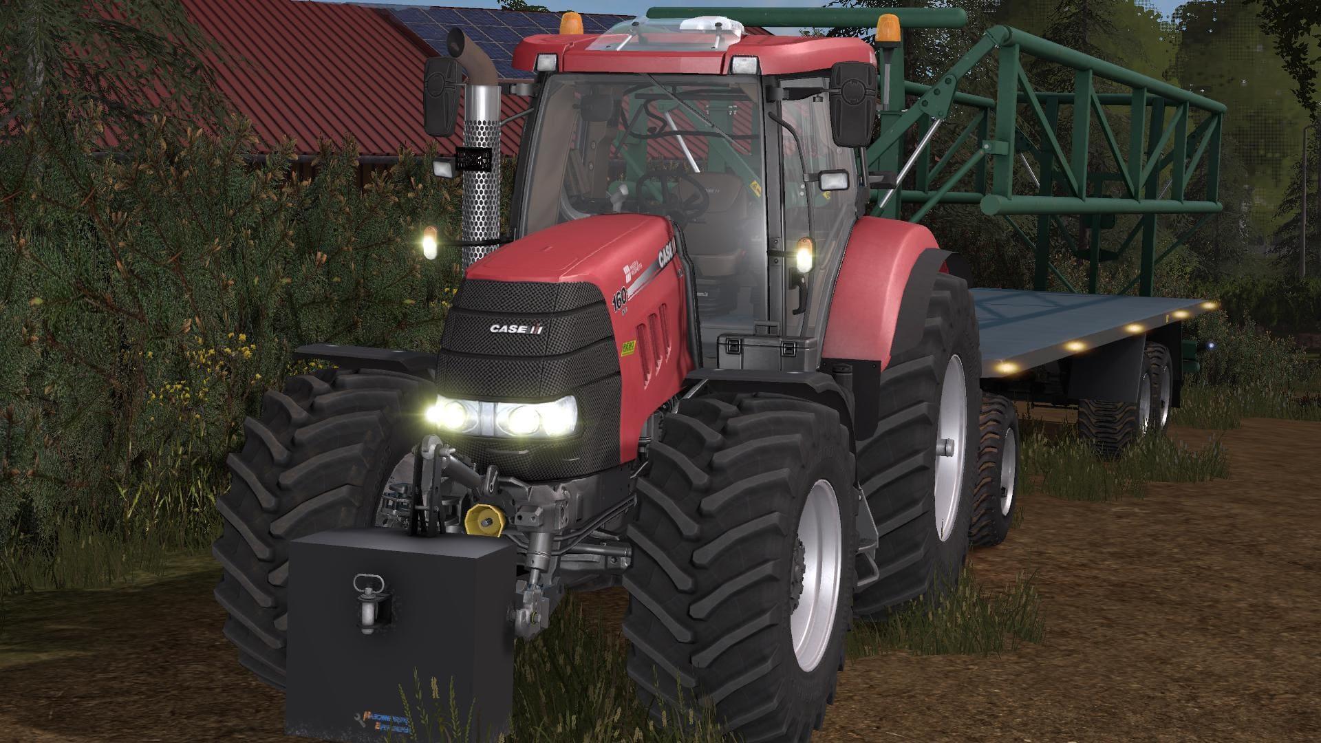 Мод трактор CASE PUMA 160 V1.0 FS17