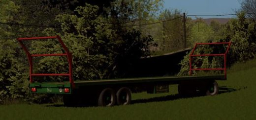 Мод прицеп COUTAND PFB T18 V1.0 Farming Simulator 17