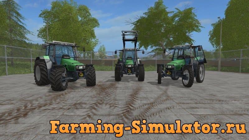 Мод трактор DEUTZ-FAHR AGROSTAR 6.XX V1.1.0.0 FS17