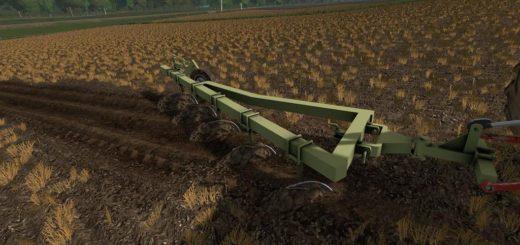Мод плуг FORTSCHRITT B200 V1.0 Farming Simulator 2017