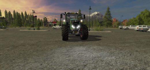 Мод трактор FENDT 900 REBUILD V1.2 FS17