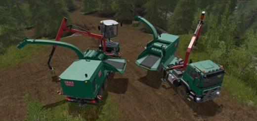 Мод ПАК FOREST EXTENSION FOR THE MAN TGS 6X/8X/10X AR-PACK V3.0 FS17