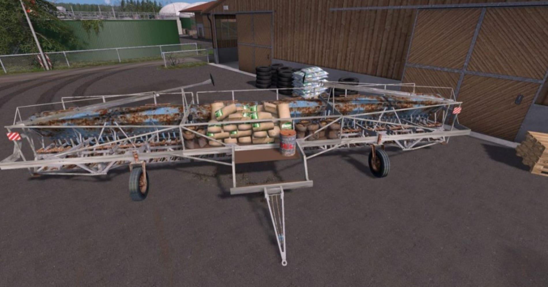 Мод ПАК FORTSCHRITT A203 V2.0 Farming Simulator 17