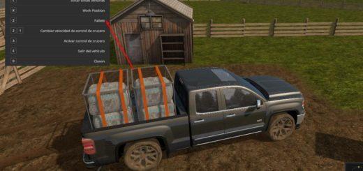 Мод авто GMC SIERRA 1500 Farming Simulator 2017