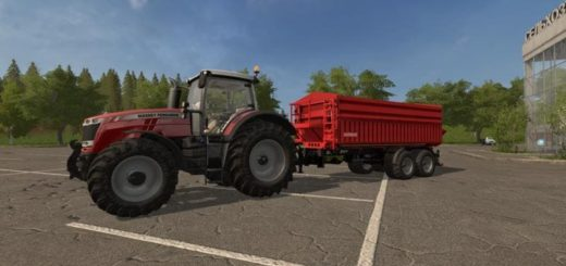 Мод прицеп GRIMME MULTITRAILER 190 V1.0.0 Farming Simulator 17