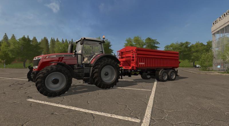 Мод прицеп GRIMME MULTITRAILER 190 V1.0.0 Farming Simulator 17