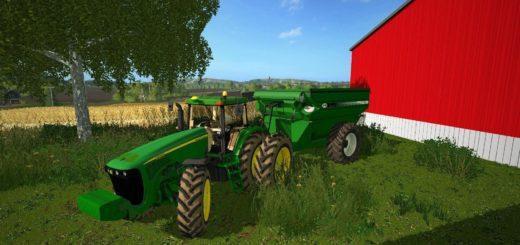 Мод прицеп J&M 875 V1.0 Farming Simulator 17