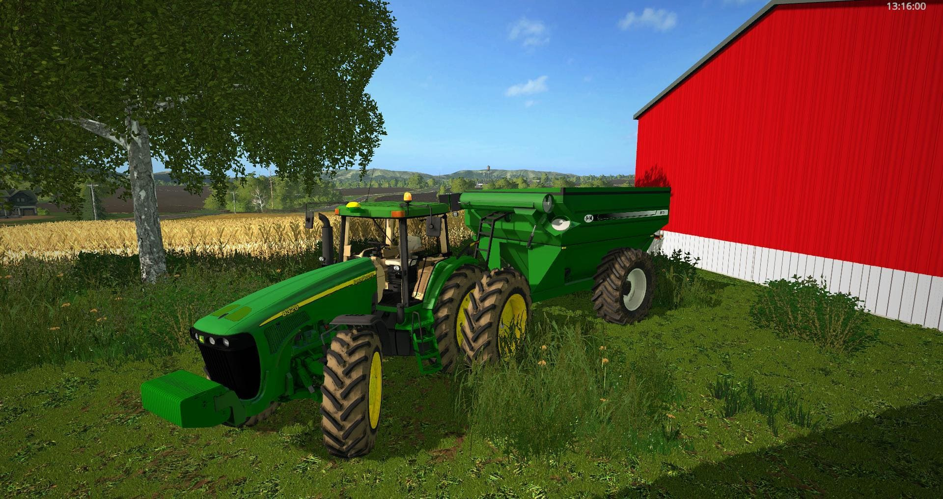 Мод прицеп J&M 875 V1.0 Farming Simulator 17