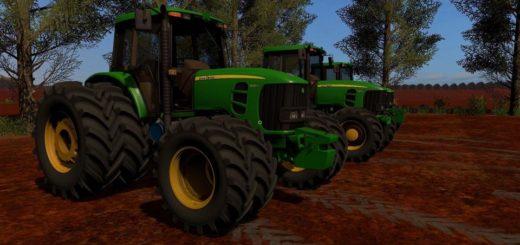 Мод трактор JOHN DEERE 6180J BR V1.0 FS17