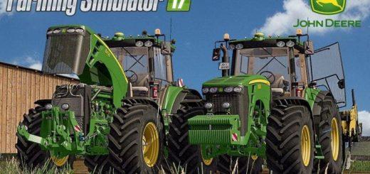 Мод трактор JOHN DEERE 8030 SERIES FINAL Farming Simulator 2017