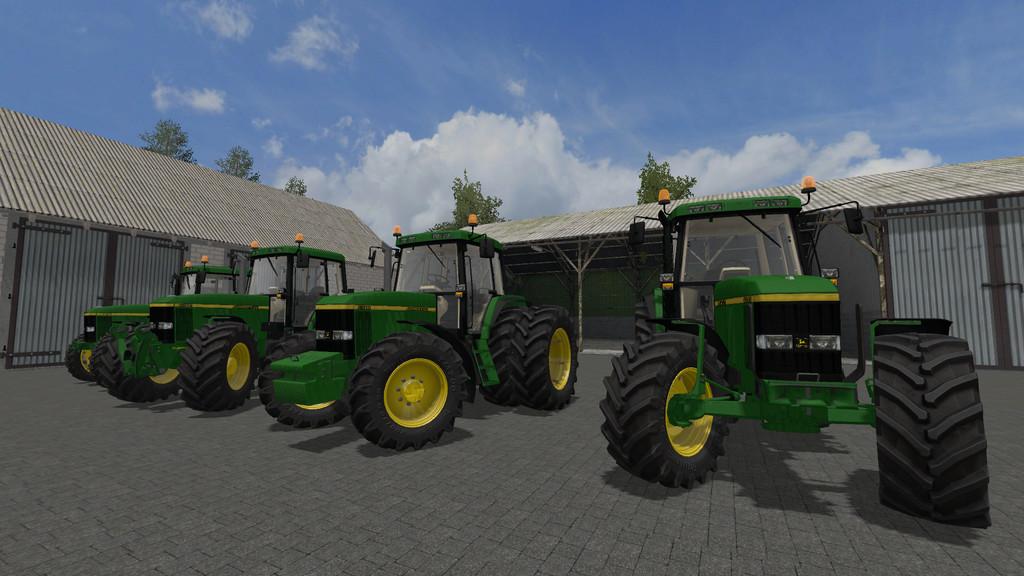 Мод трактор JOHN DEERE 6000 TEN SERIES V1.0 FS17