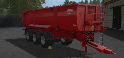 Мод прицеп KRAMPE BB900 V1.0.0 Farming Simulator 17
