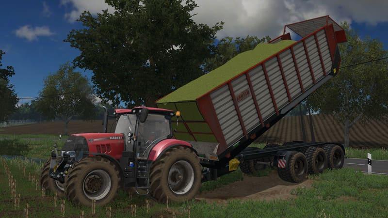 Мод прицеп KAWECO RADIUM 55 HL V1.0 Farming Simulator 2017