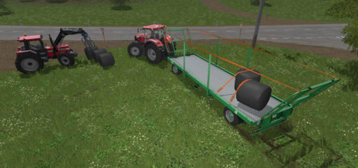Мод прицеп KROGER AGROLINER PWS 18 V1.0.0.0 Farming Simulator 2017