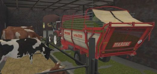 Мод прицеп KRONE TURBO 2500 V1.0.0.0 Farming Simulator 2017