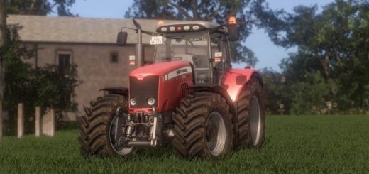 Мод трактор MASSEY FERGUSON 7400 V1.0 Farming Simulator 17