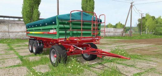 Мод ПАК прицепы METALTECH DB 14 3-AXIS V1.0.0.1 Farming Simulator 2017